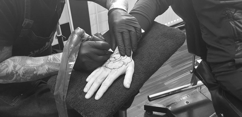 Nazorg Tattoo Ink Iron